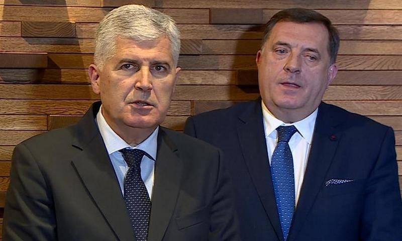 Dragan Čović i Milorad Dodik