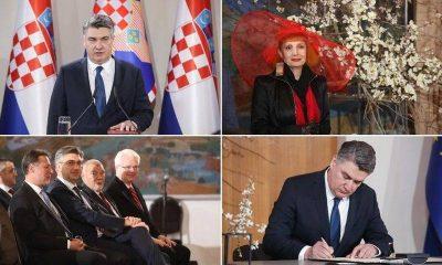 Zoran Milanović inauguracija