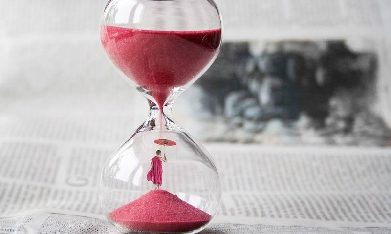 pješčani sat vrijeme