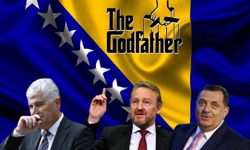 Čović, Izetbegović, Dodik