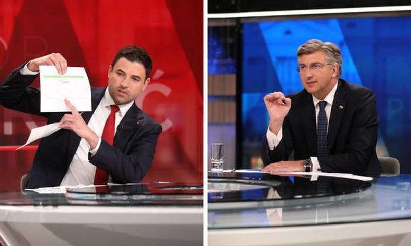 Bernardić i Plenković