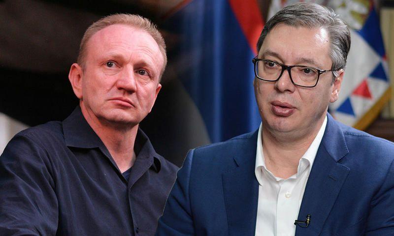 Đilas i Vučić