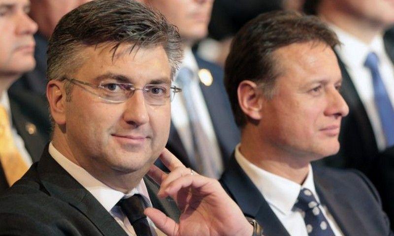 Plenković i Jandroković