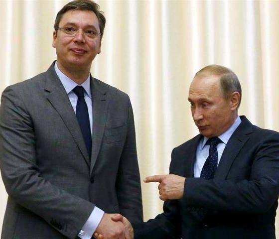 Vučić Putin