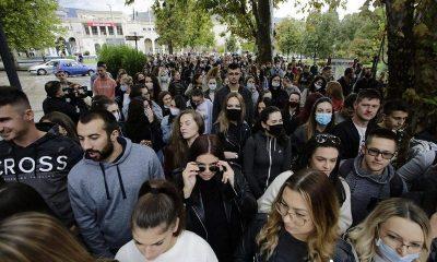 studenstki prosvjedi u Mostaru
