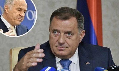 Dodik optužuje Inzka