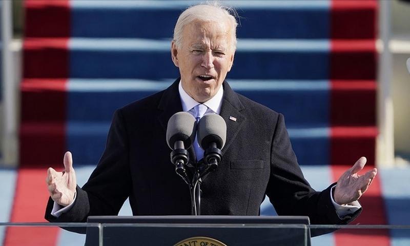 Joe Biden inauguracija
